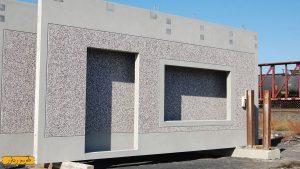 دیوار پیش ساخته در شیراز
